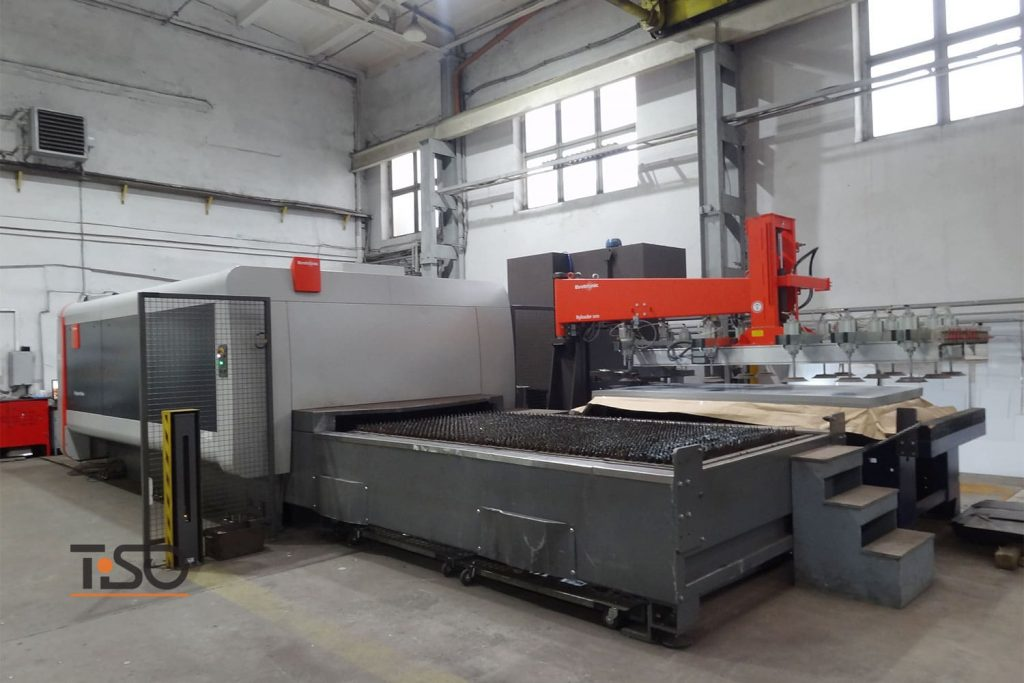 Equipment Bystronic foir laser metal cutting